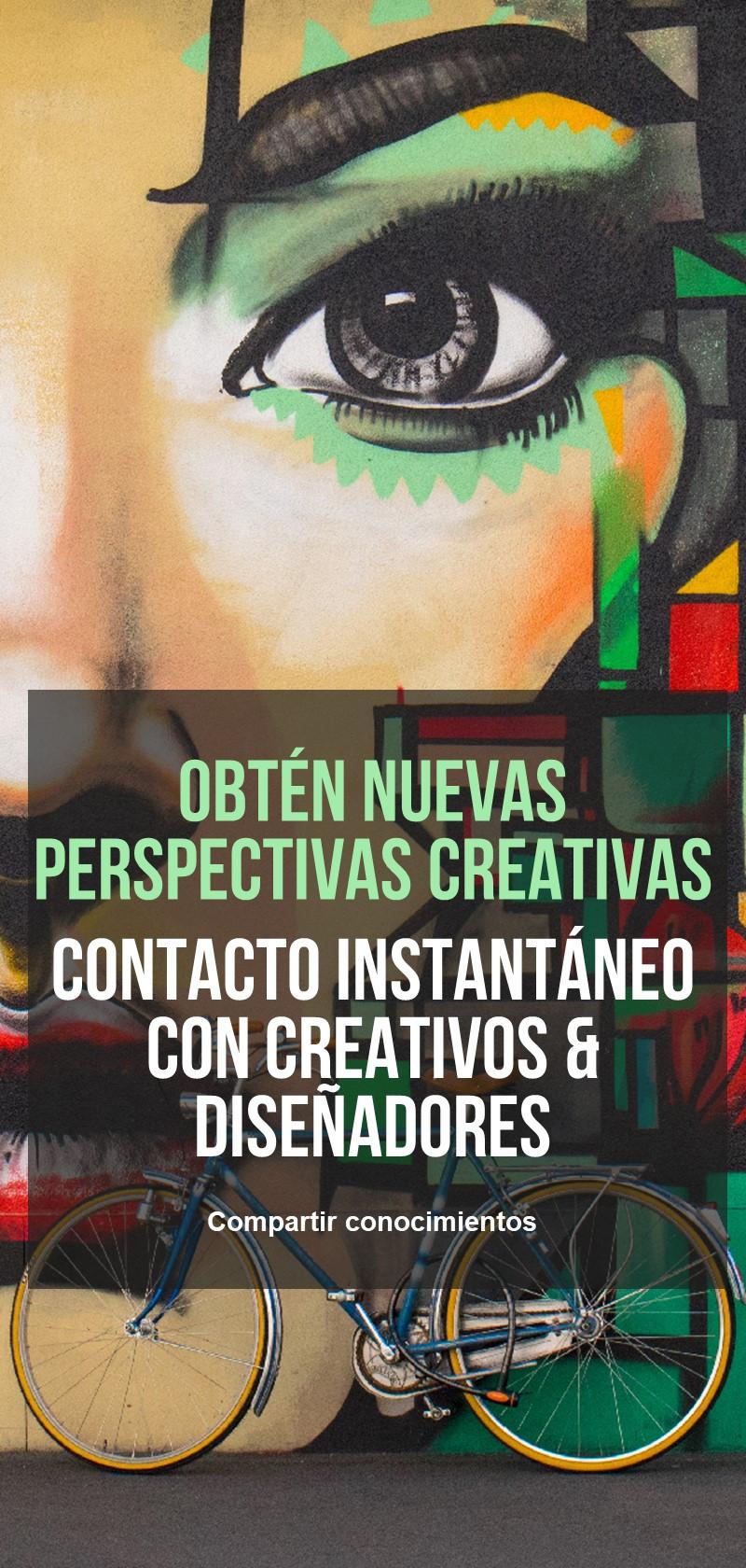 Asesoramiento o trabaje con un creativo o diseñador