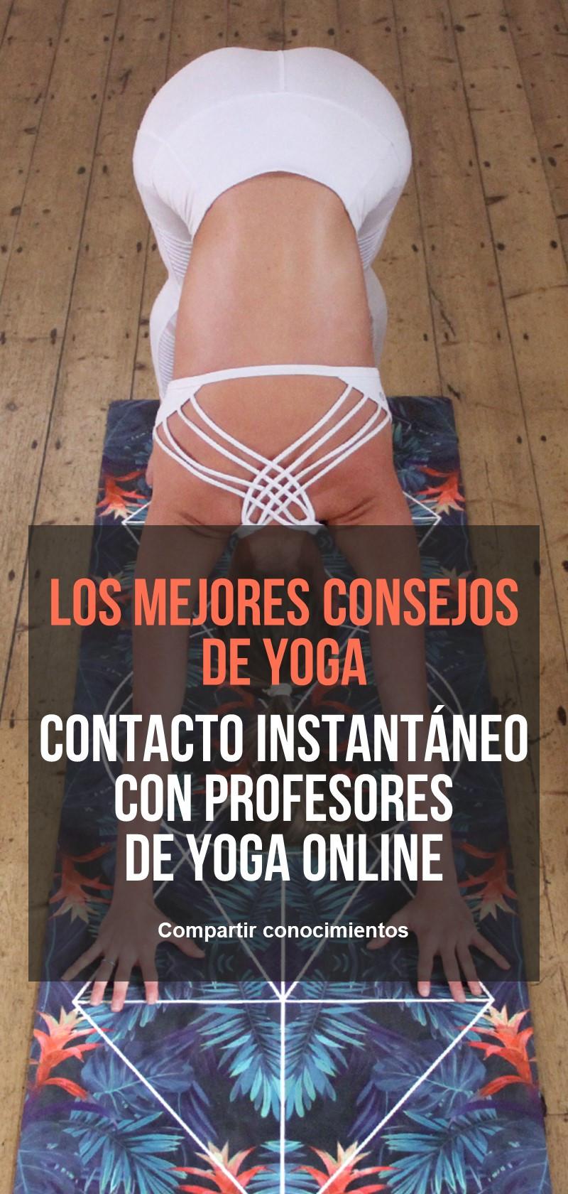 Clases y profesores de Yoga online