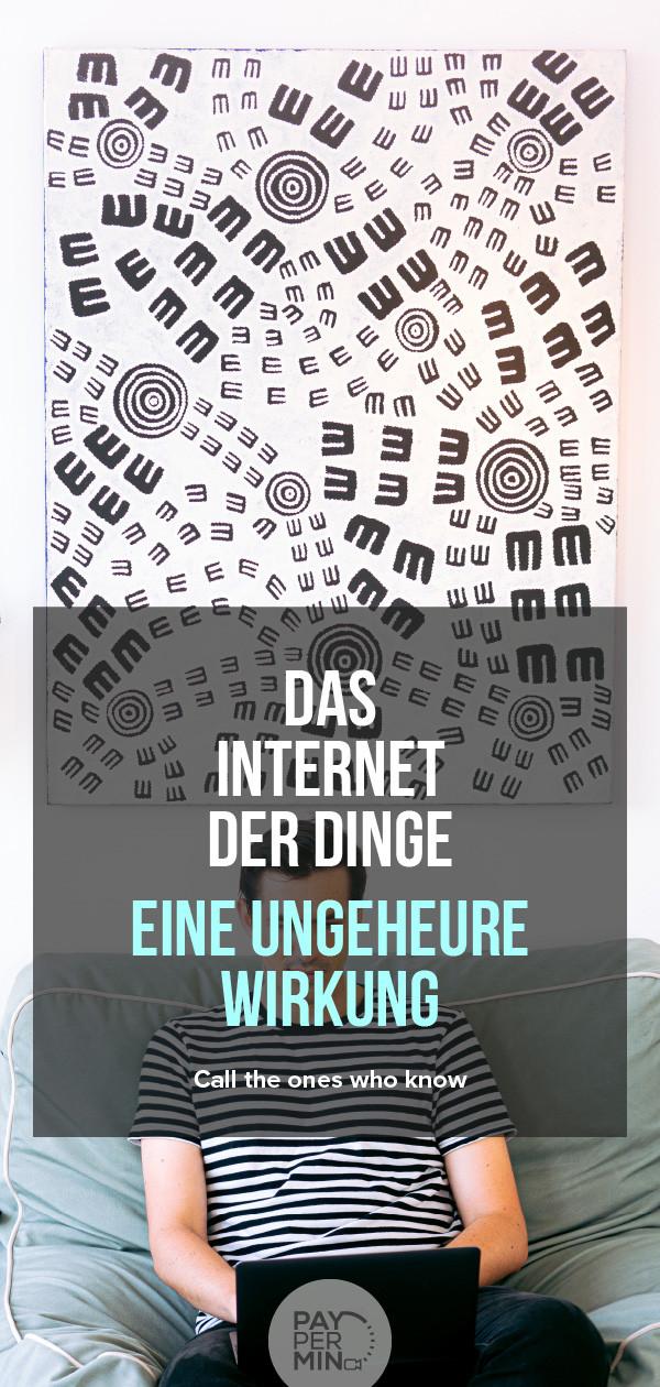 Das Internet der Dinge (IdD)