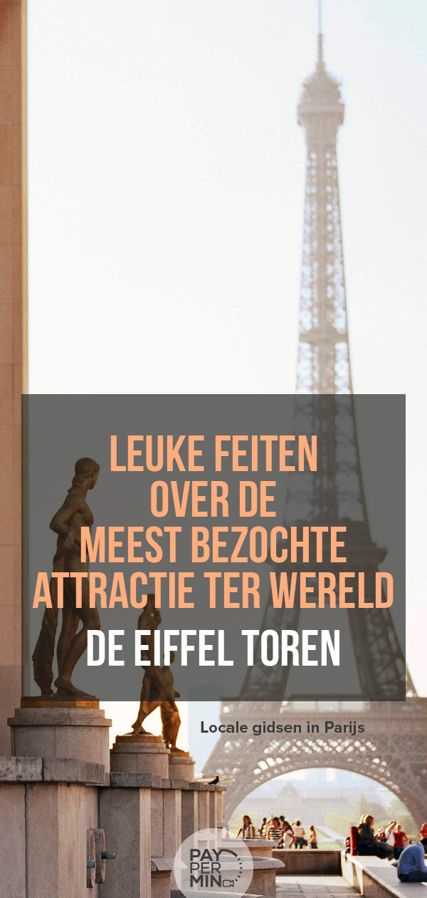 De Eiffeltoren in Parijs