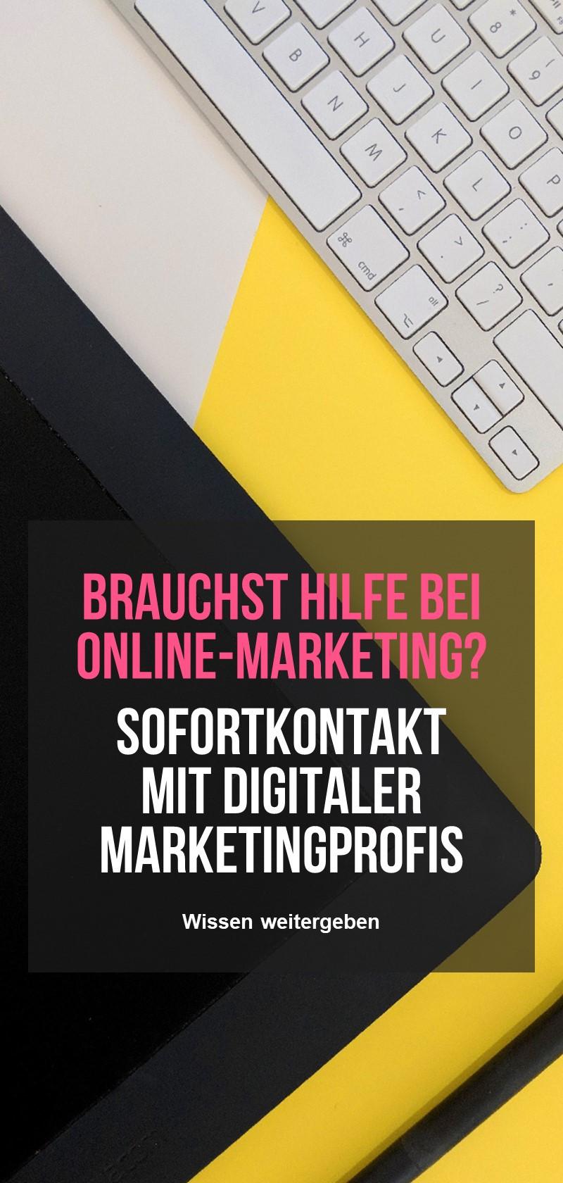 Digitales Marketing Experten