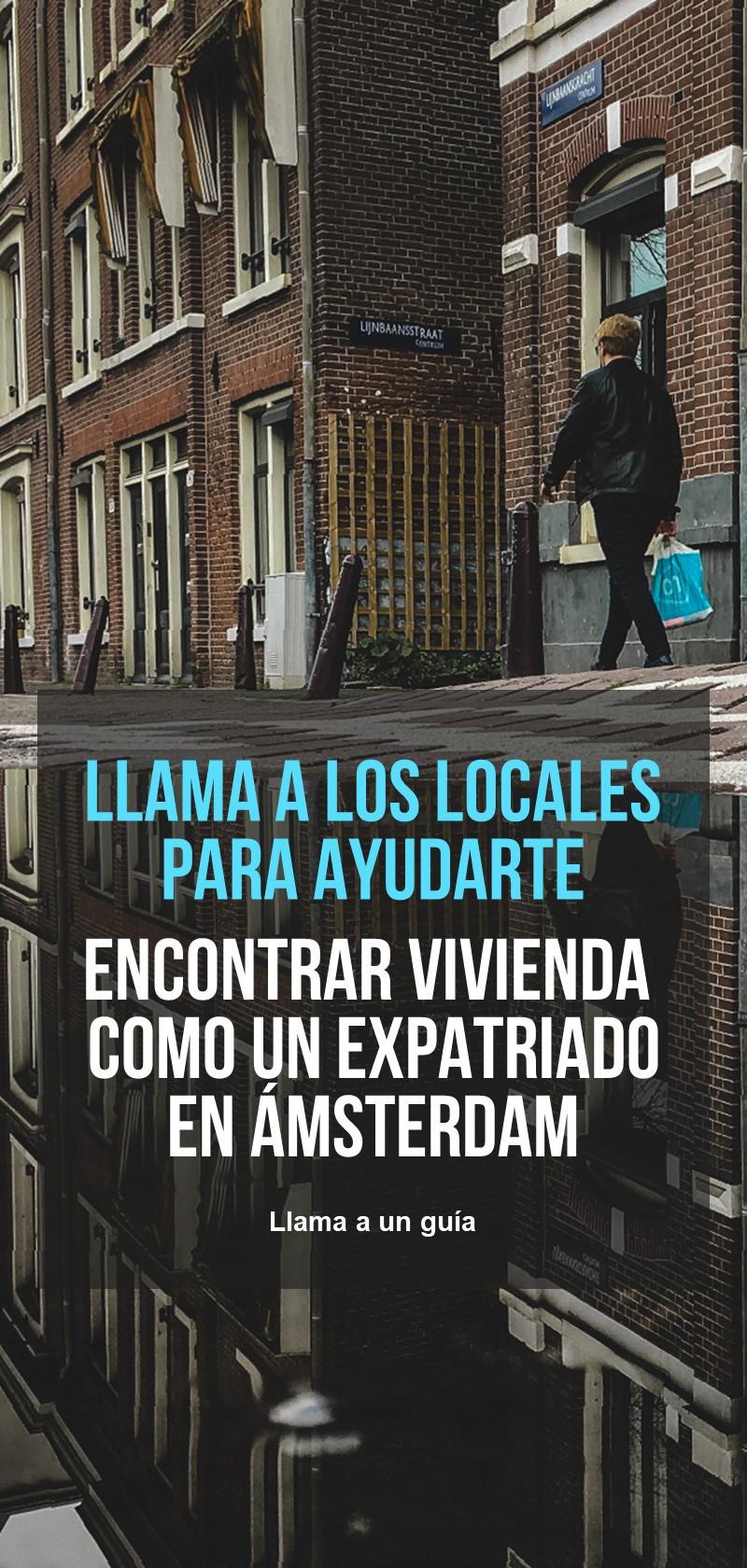 Encontrar una casa como expatriado en Amsterdam