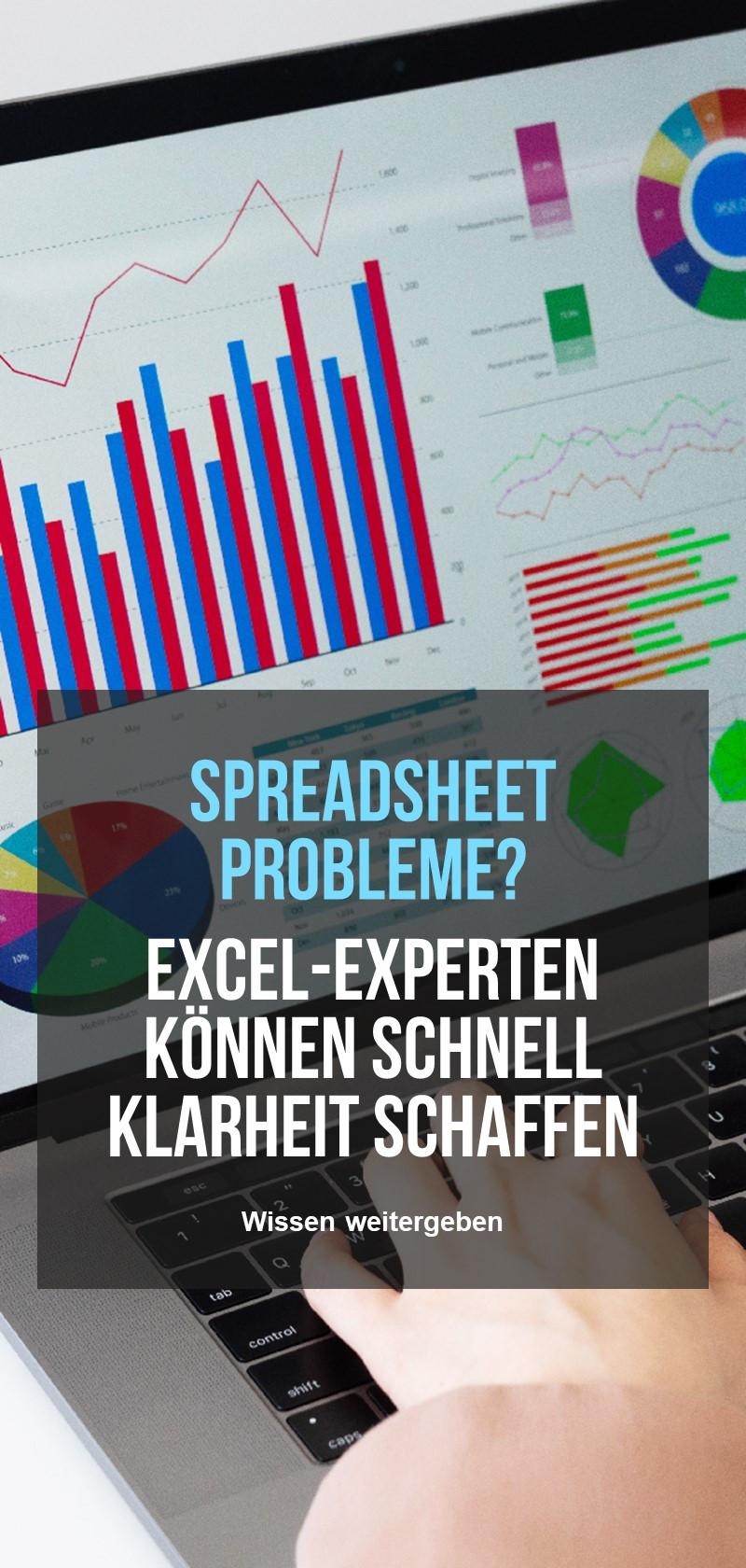 Microsoft Excel Spezialisten