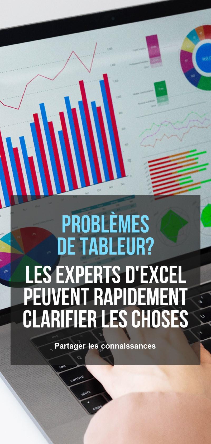 Spécialistes Microsoft Excel
