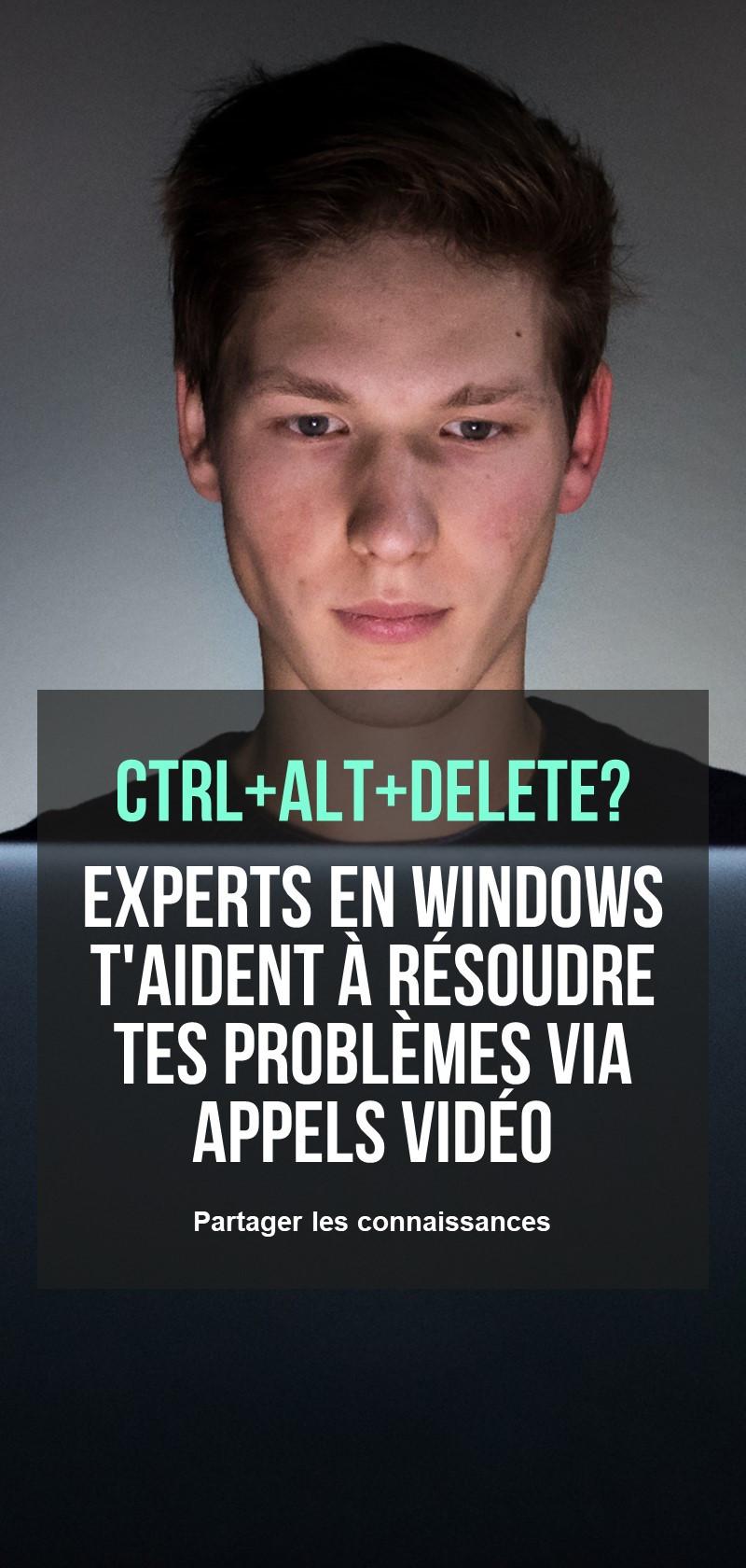 Experts Windows pour l'assistance à distance