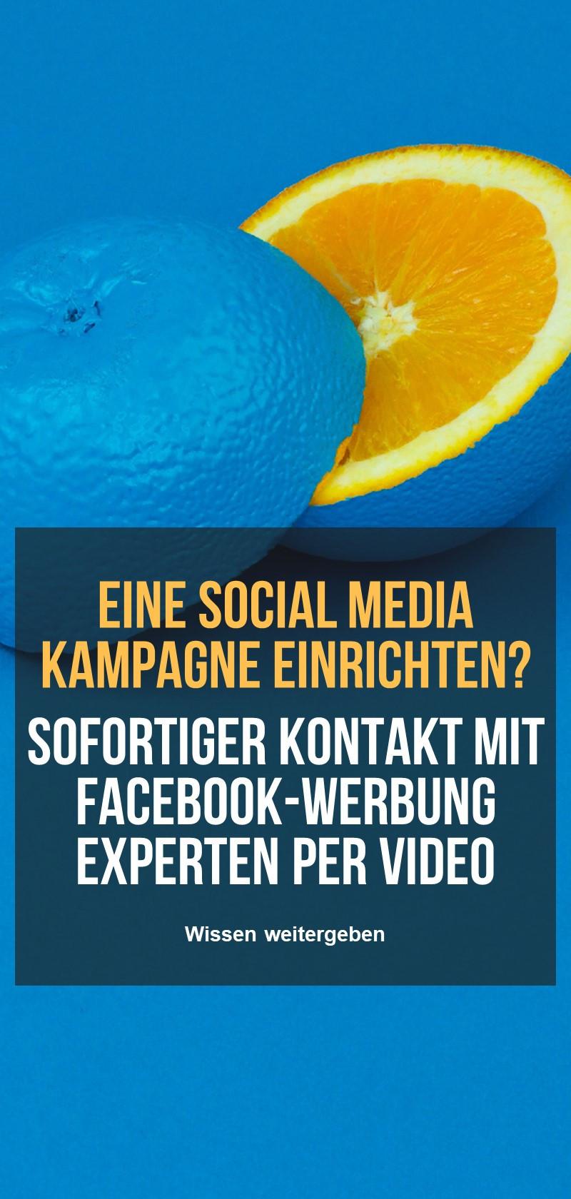 Unterstützung von Facebook-Werbung