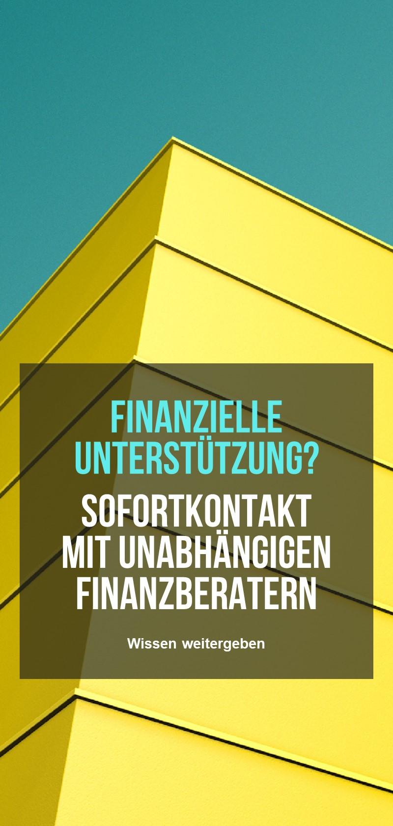 Finanzberatung und -planung