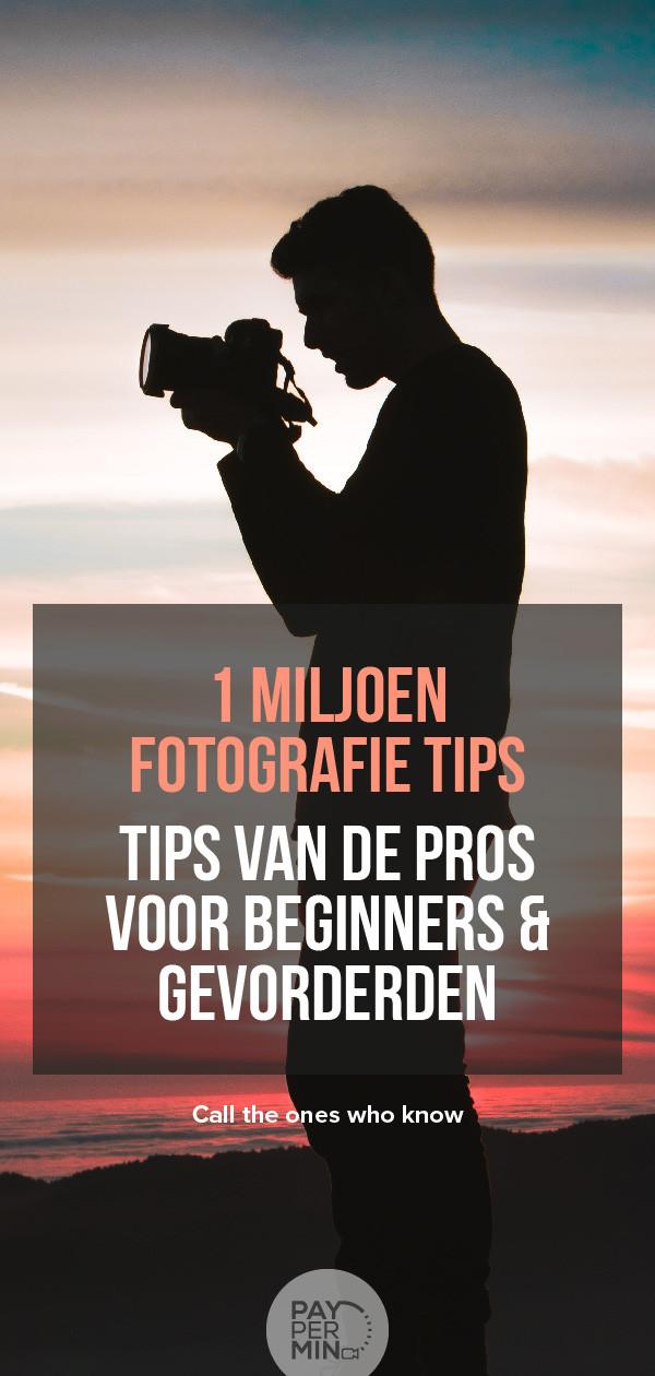 Fotografie tips en technieken