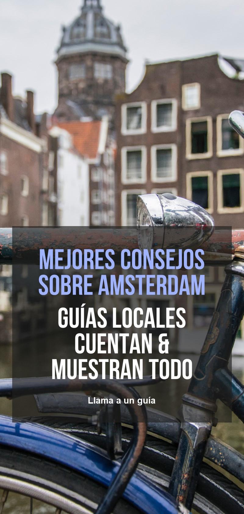 Guías locales Amsterdam