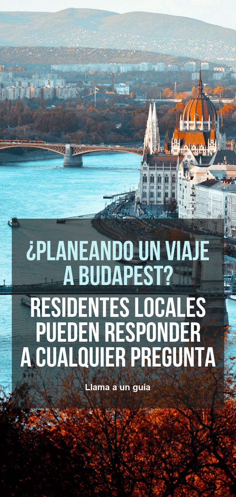 Guías locales en Budapest