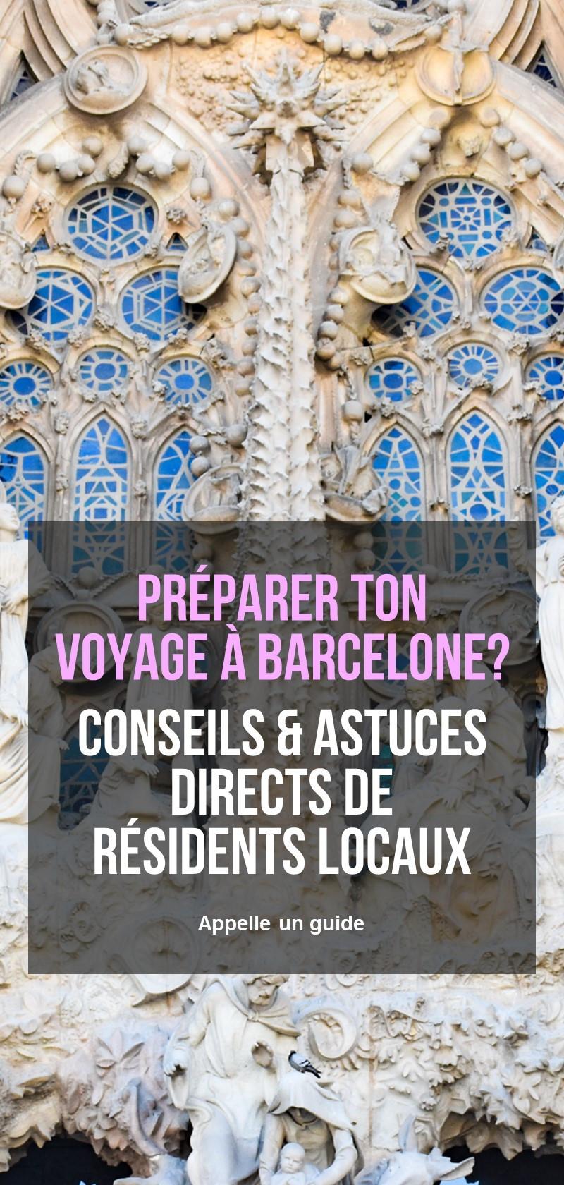 Guides locaux à Barcelone