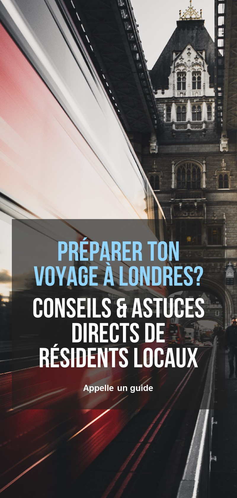 Guides locaux à Londres