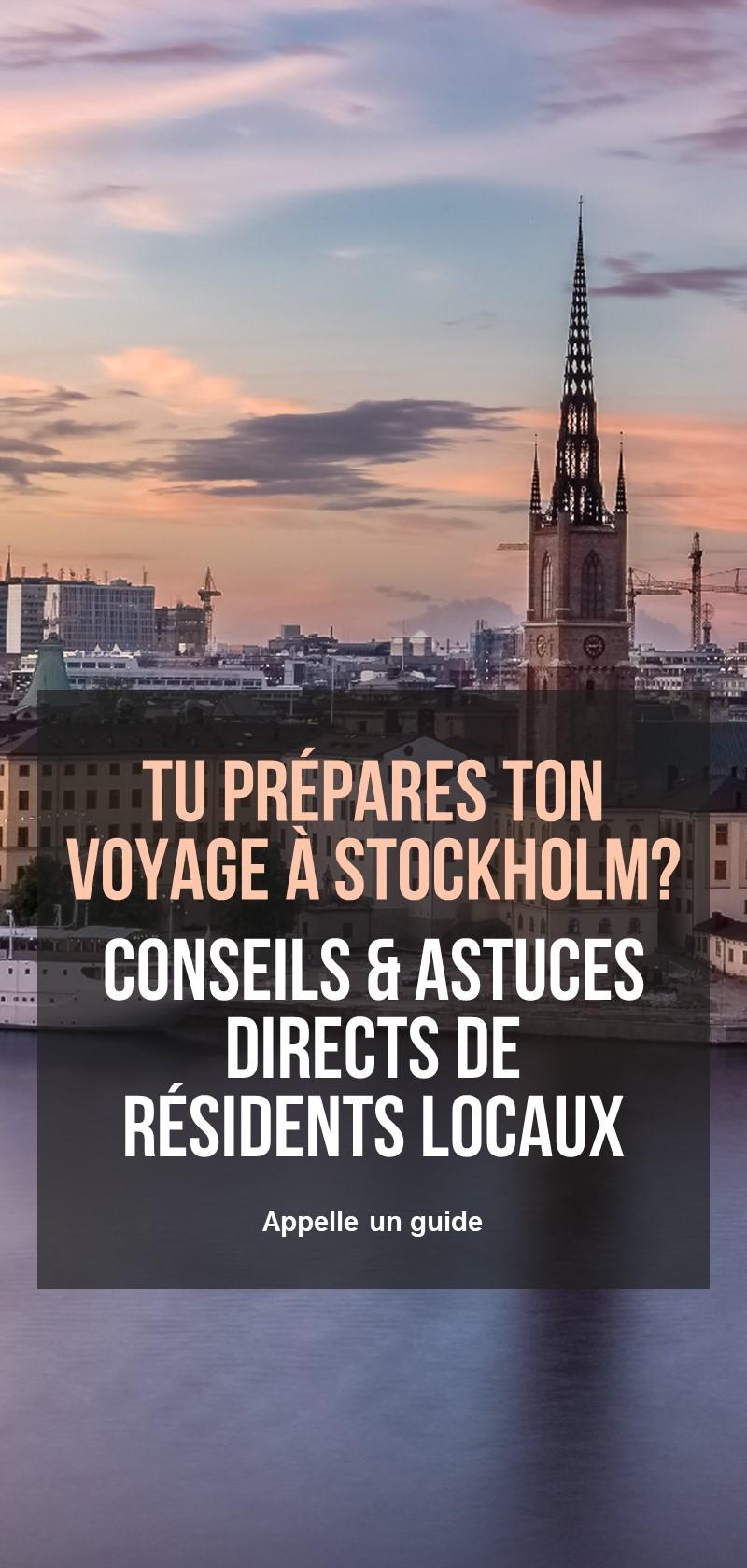 Guides locaux à Stockholm