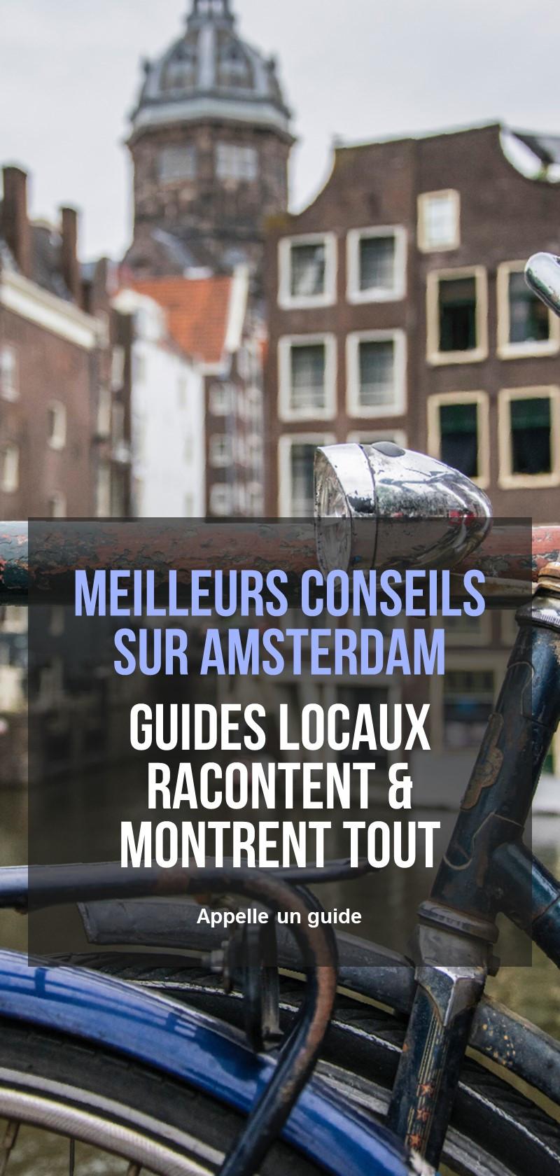 Guides touristiques Amsterdam