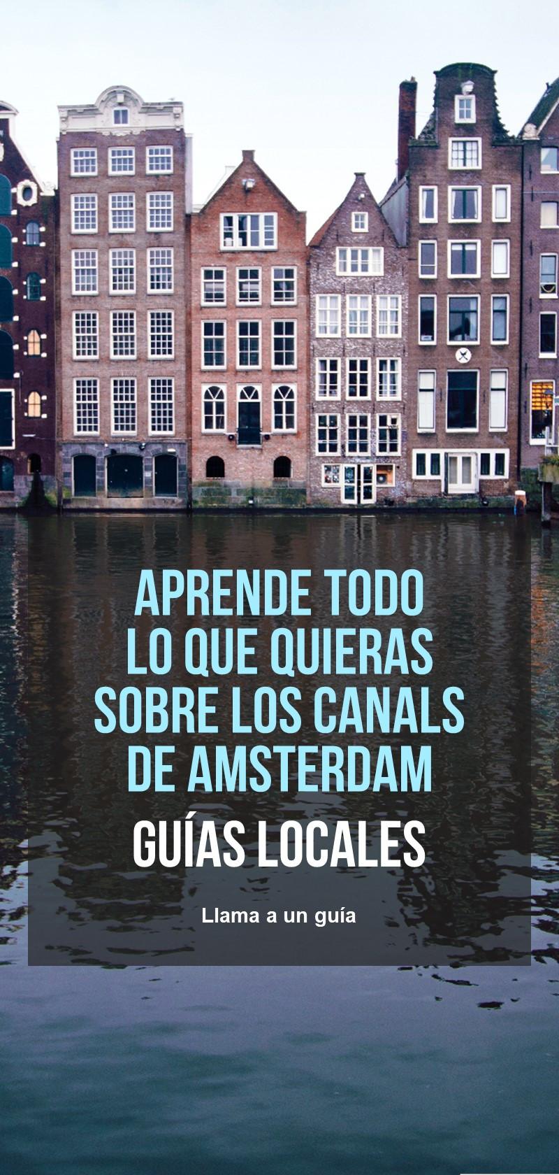Información sobre los canales de Amsterdam