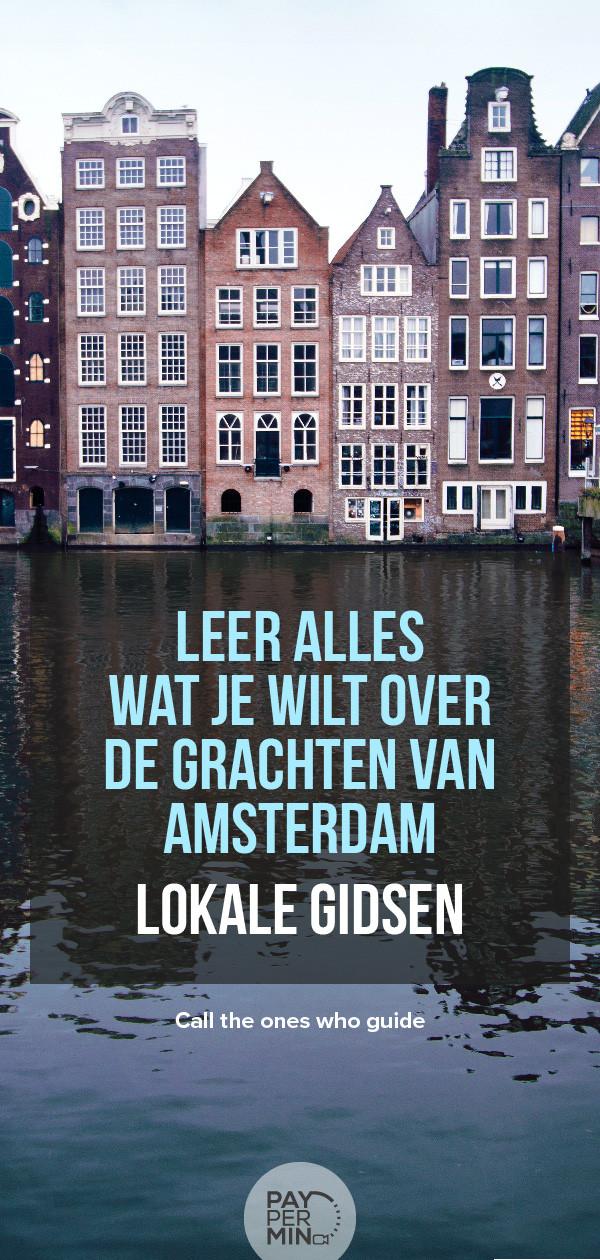 Informatie over de grachten van Amsterdam