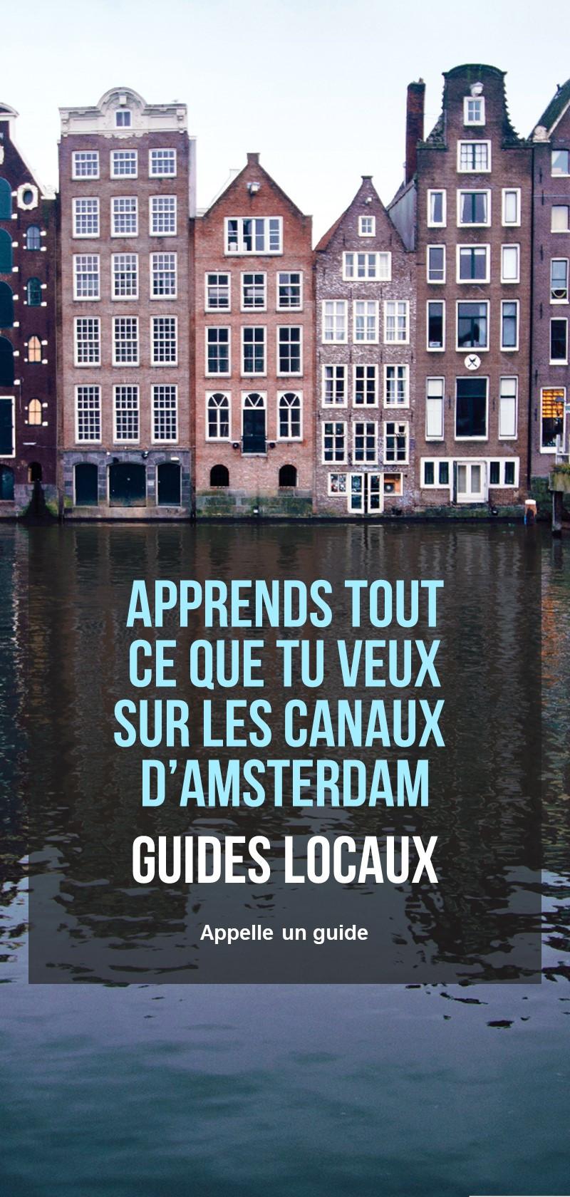 Informations sur les canaux d'Amsterdam
