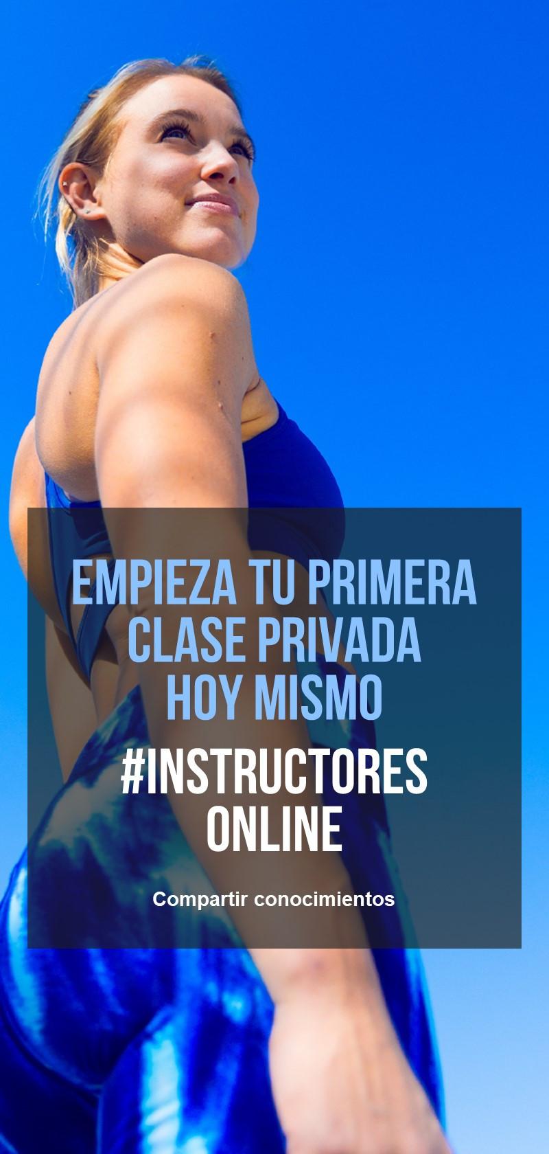 Instructores de Entrenamiento online