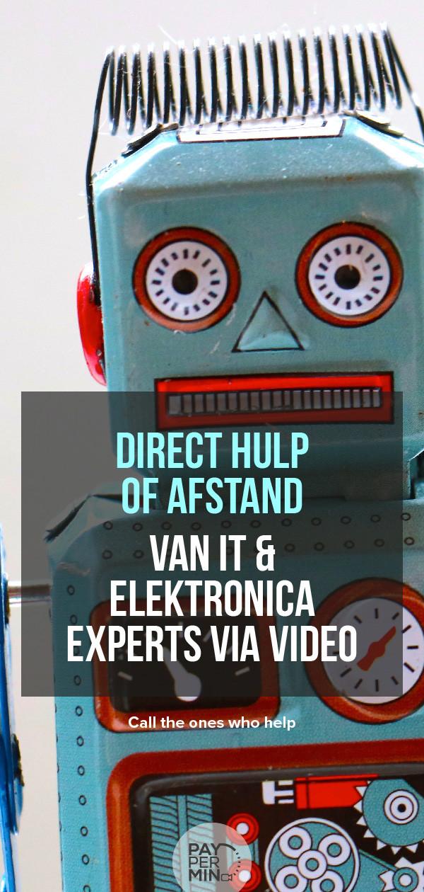 Hulp van experts bij problemen en reparaties op het gebied van IT & Elektronica