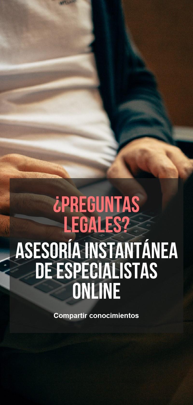 Jurista en línea para asesoramiento directo
