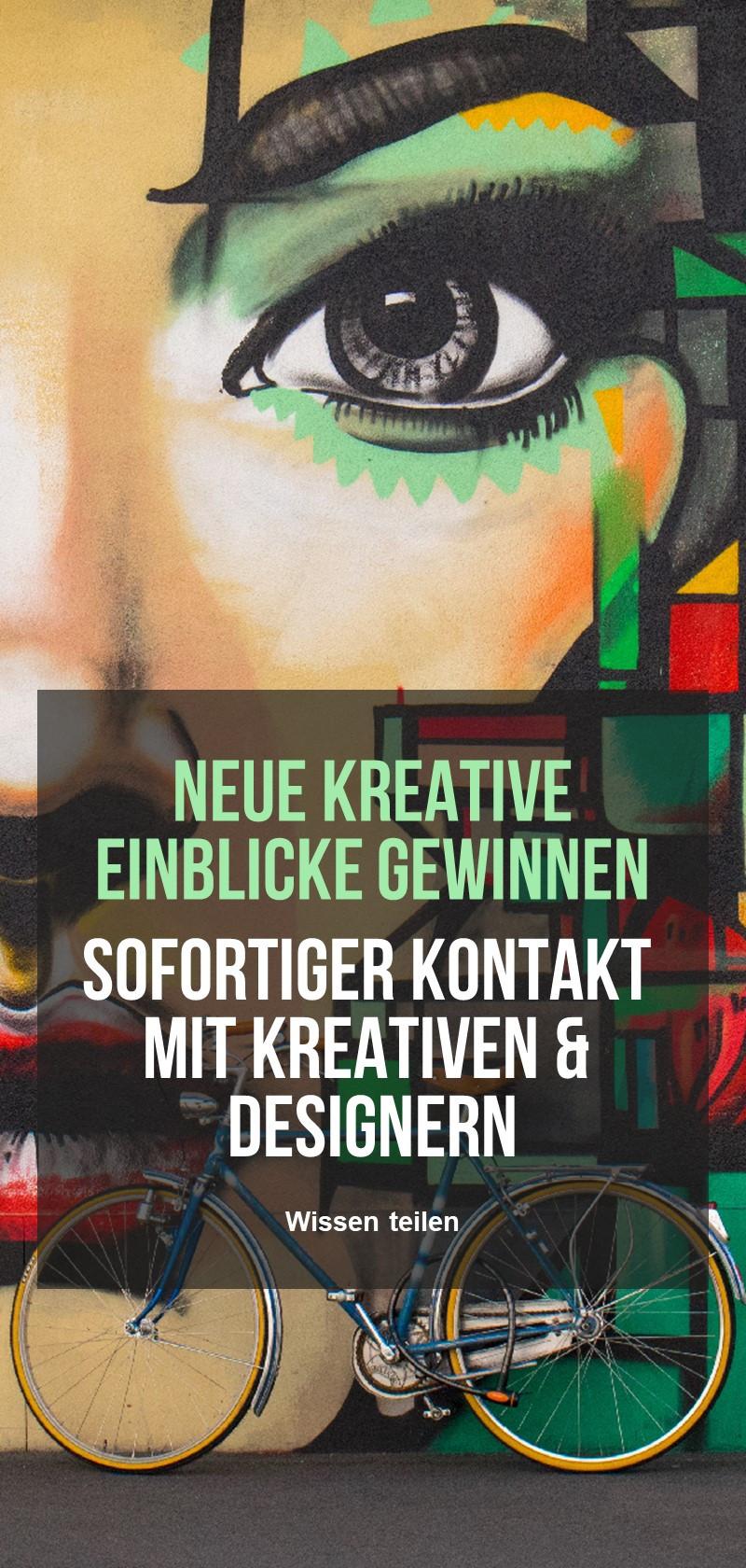 Lektionen von oder arbeite mit einem Kreativen oder Designer