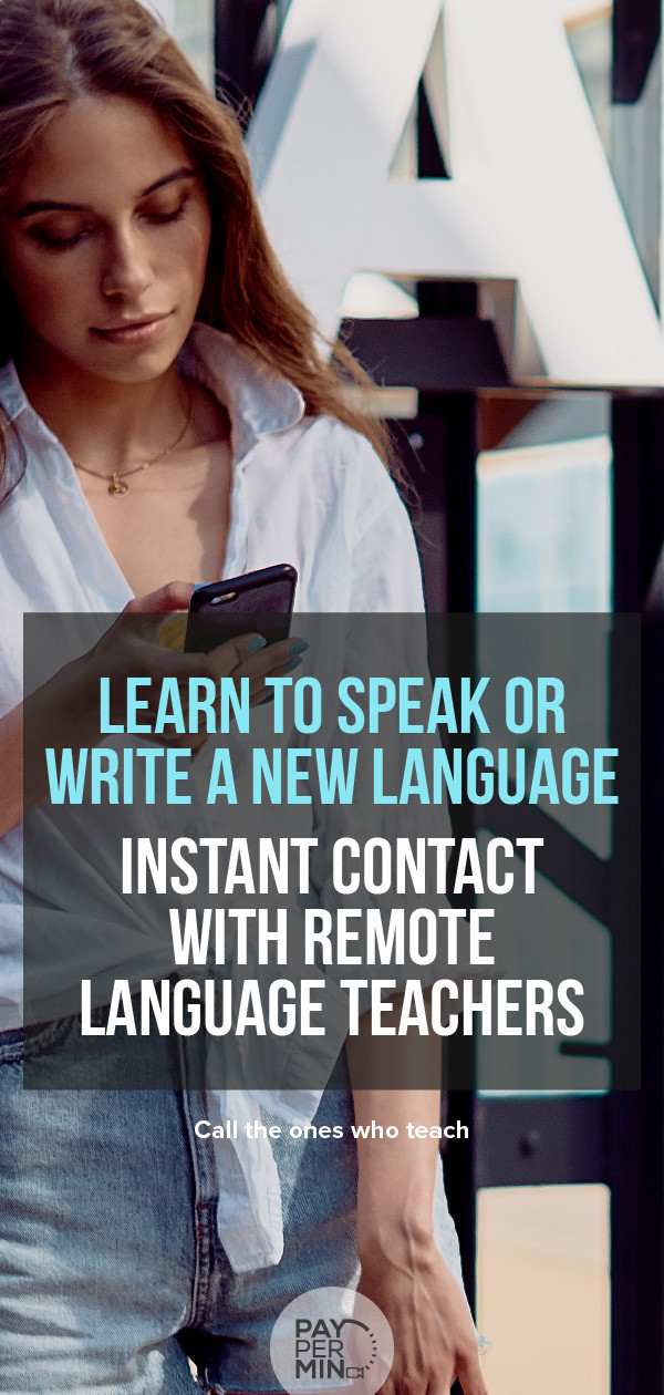 Learn a language from private teachers