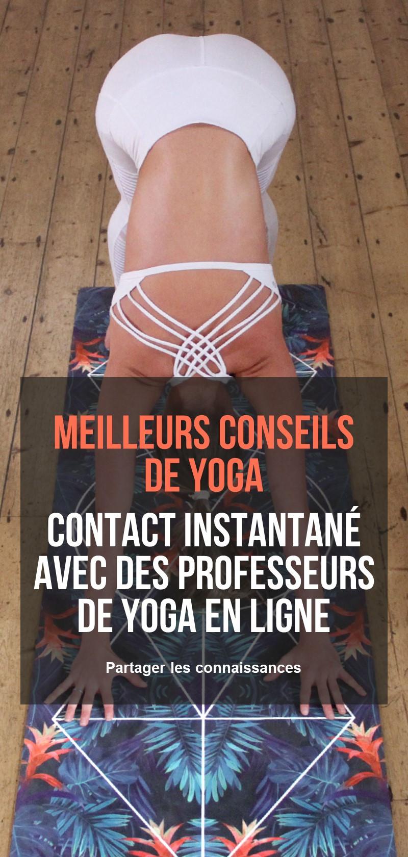 Cours et professeurs de yoga en ligne