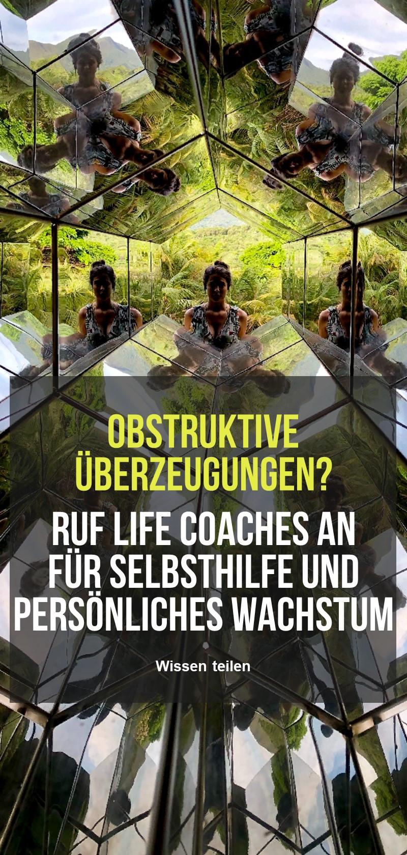 Life Coach für Selbsthilfe und persönliches Wachstum