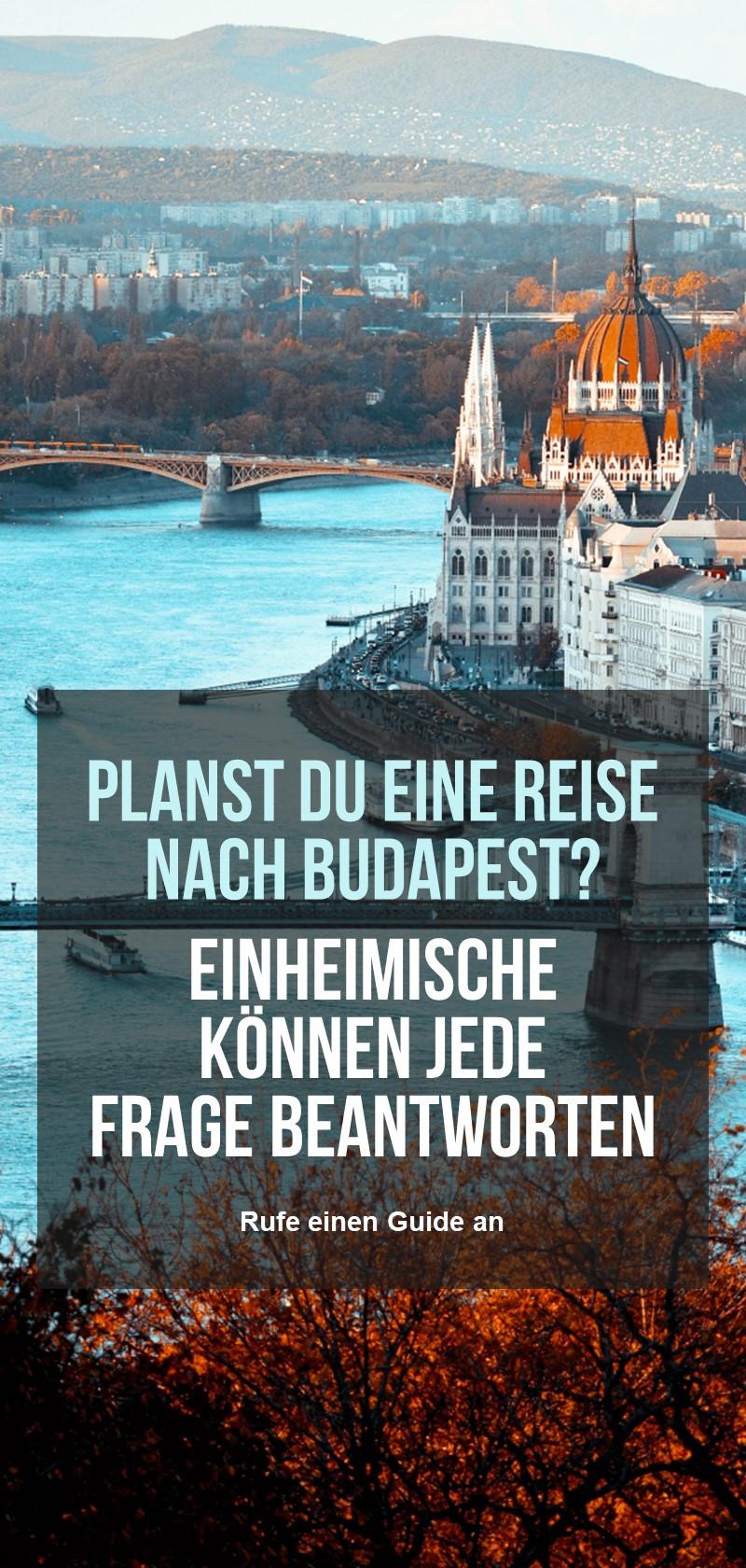 Lokale Reiseleiter in Budapest