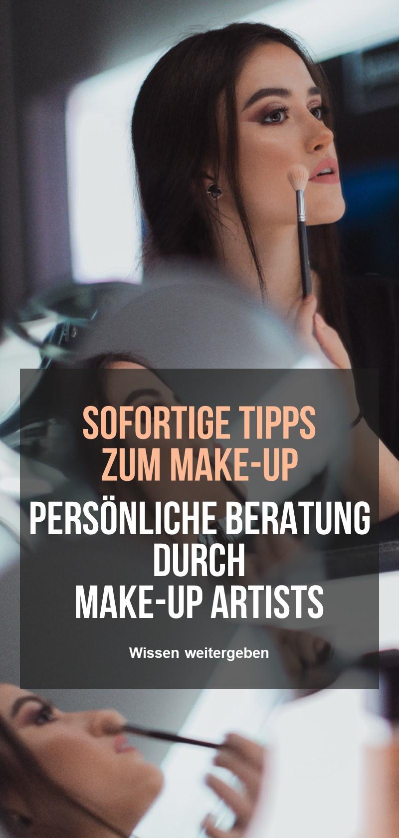 Make-up-Techniken & Tipps von Fachleuten