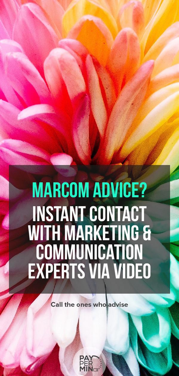 Marketing communication strategy and advice