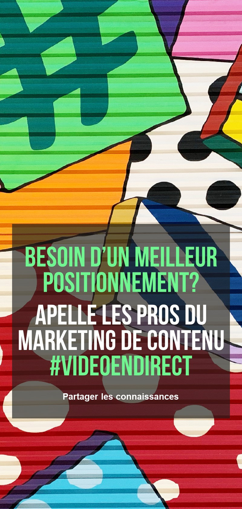 Professionnels du marketing de contenu