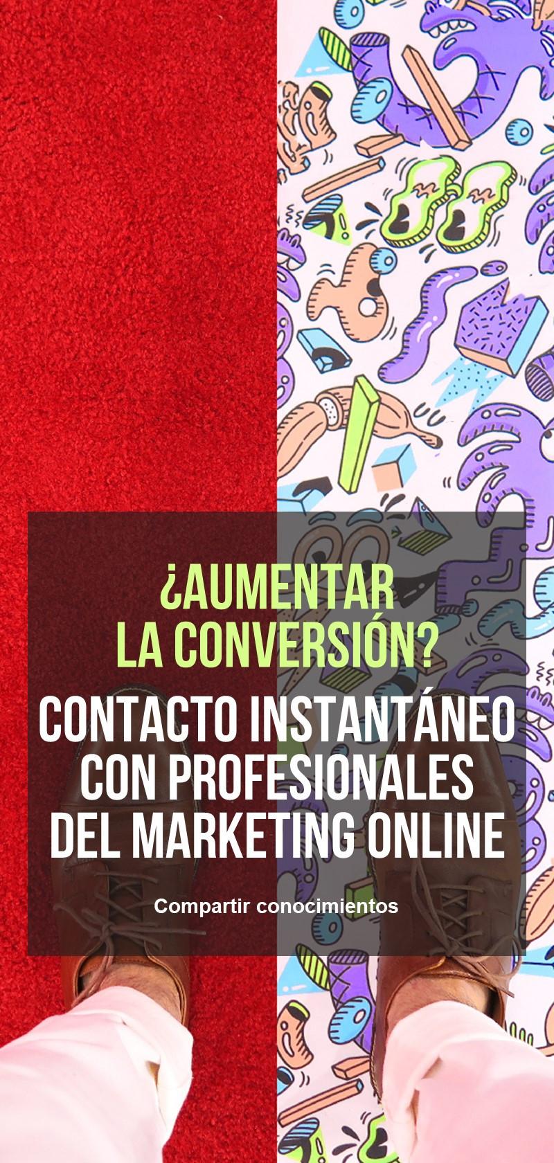 Profesionales del marketing en línea