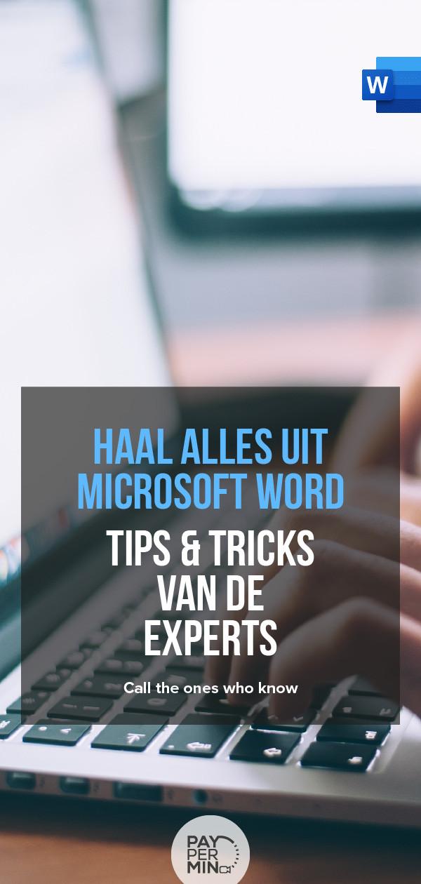 Microsoft Word Specialisten