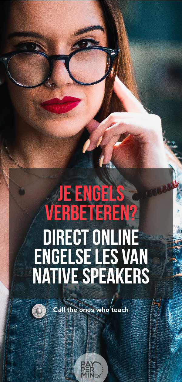 Online Engelse les van native speaker