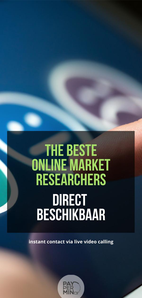 online-freelance-marktonderzoekers