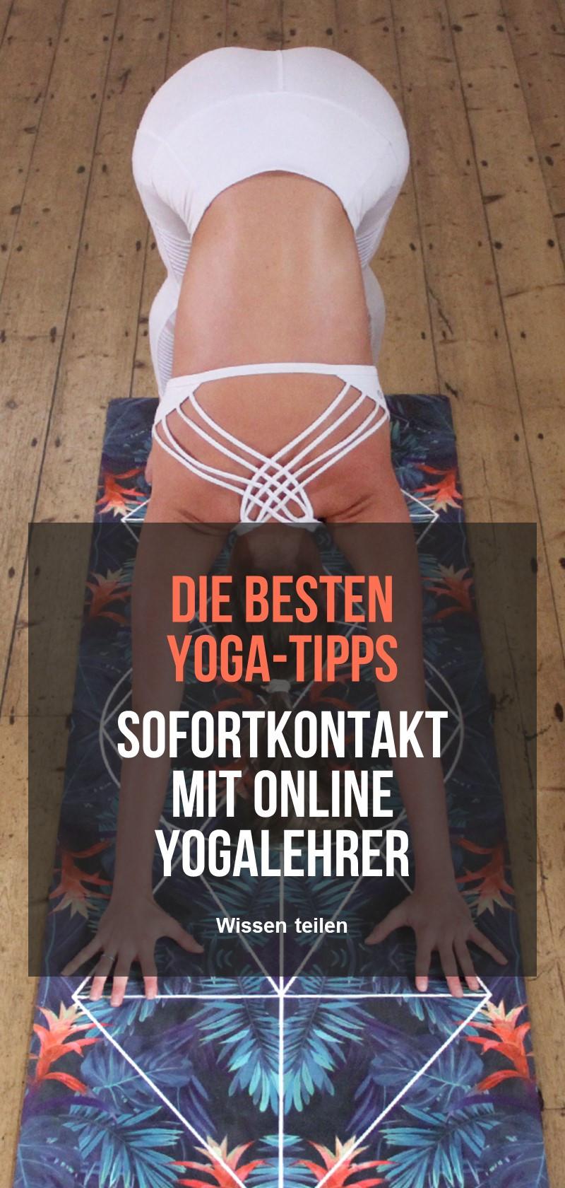 Online-Yoga-Klassen und Lehrer