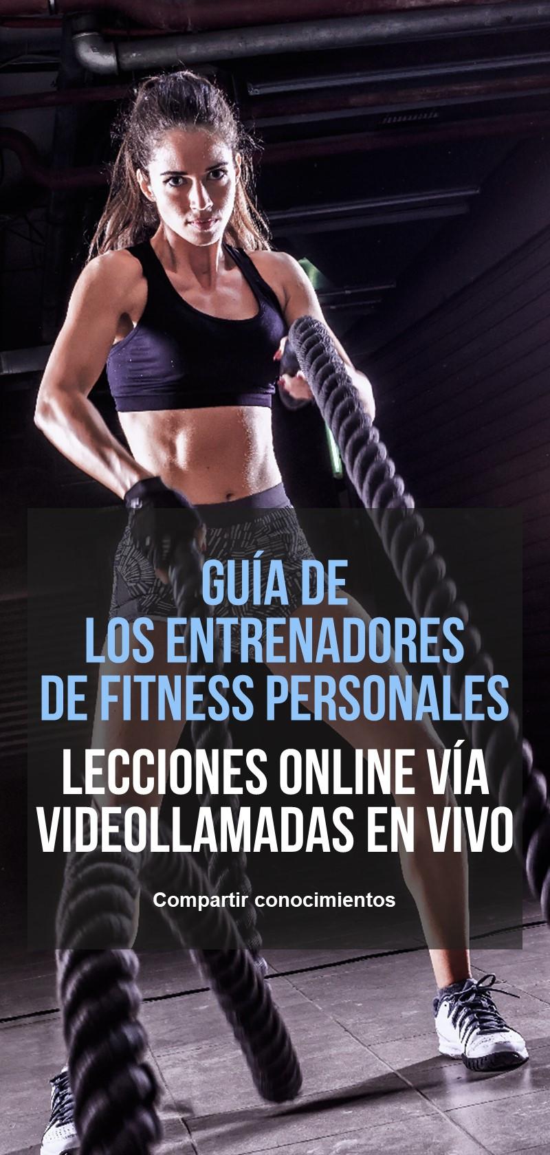 Entrenadores personales de fitness online