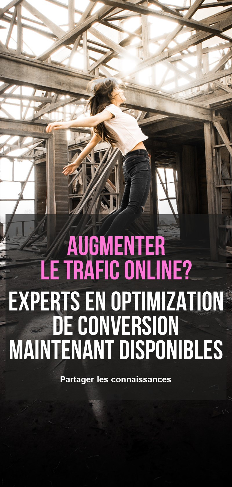 Experts en optimisation de conversion