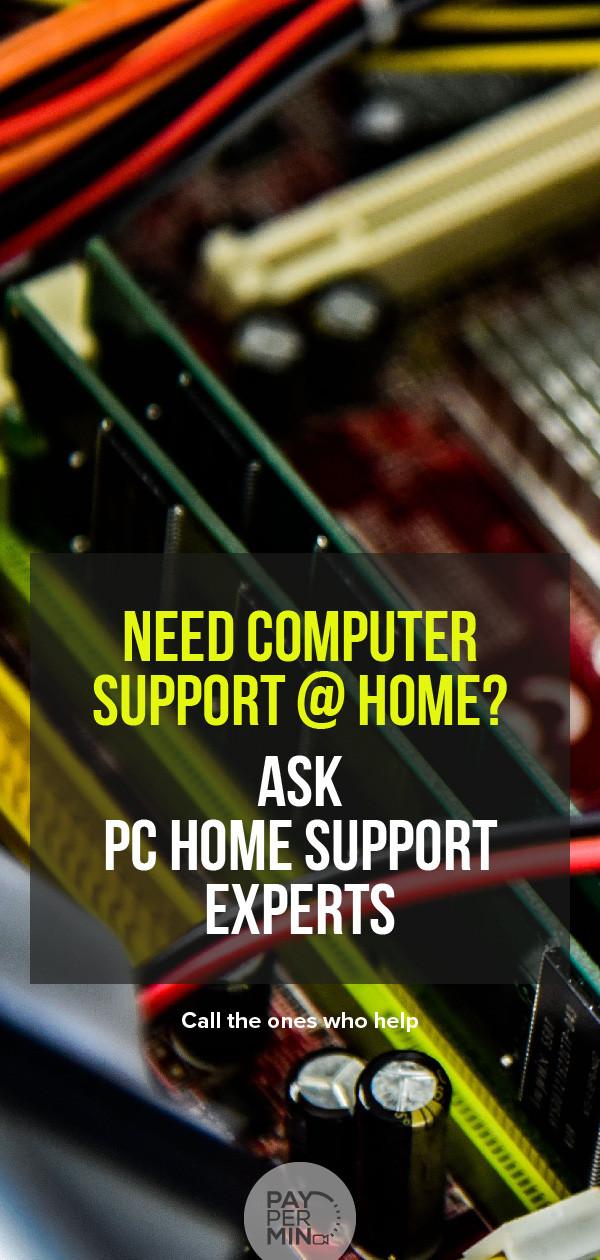 Remote online PC support