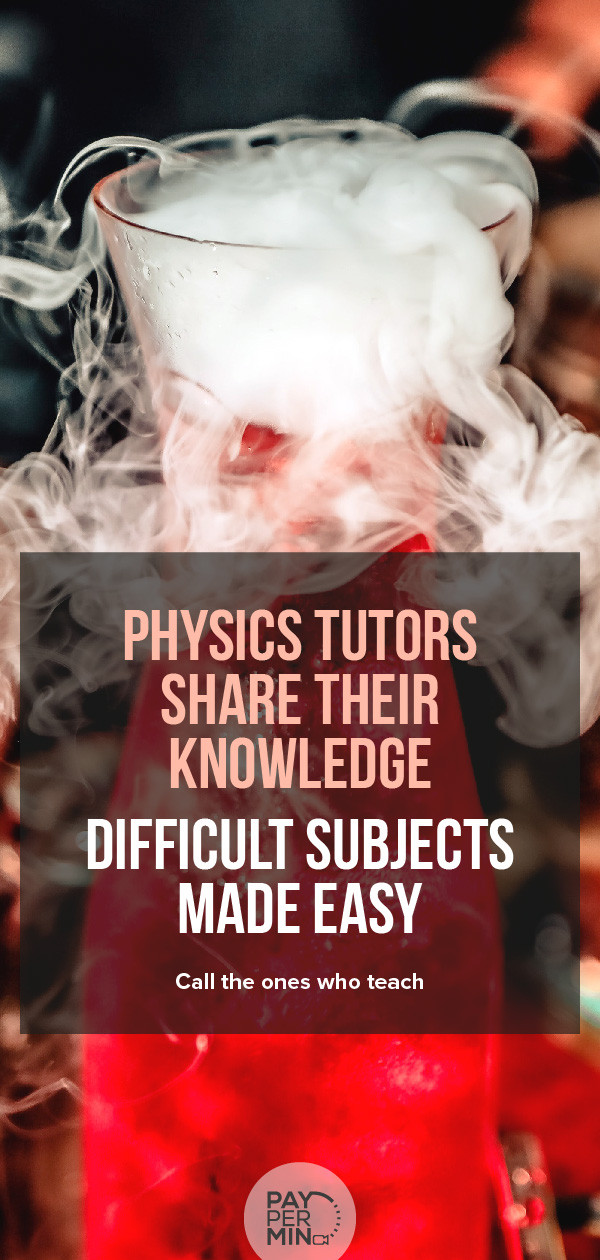 Online physics tutors and homework support