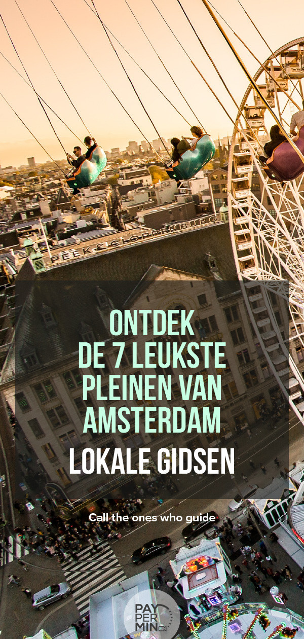 Pleinen in Amsterdam