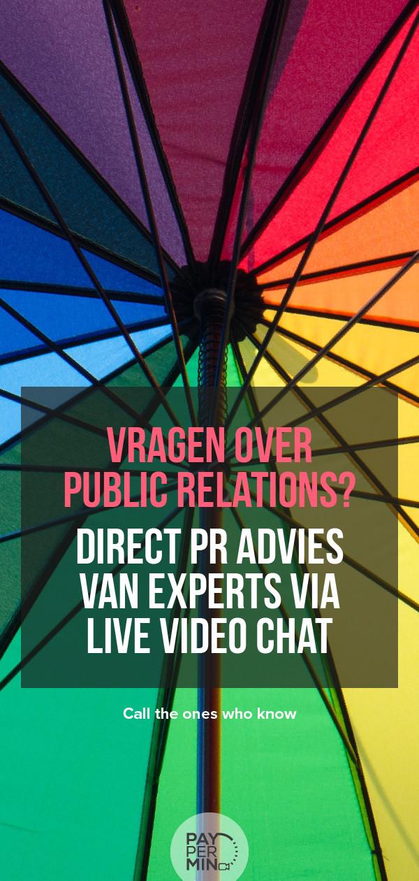 PR consultatie en advies