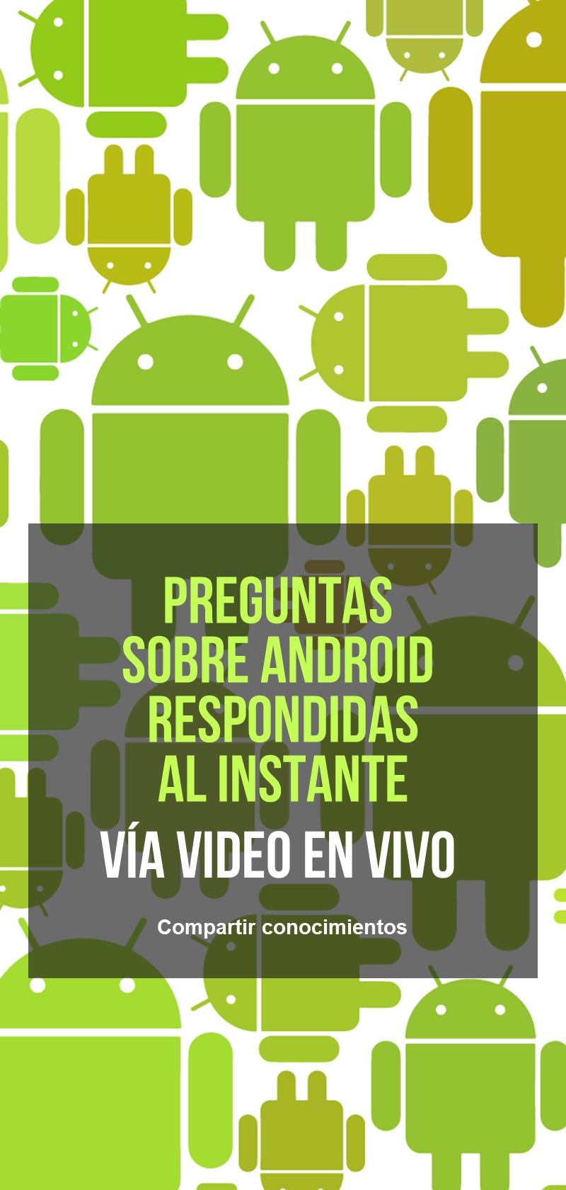 Preguntas sobre Android