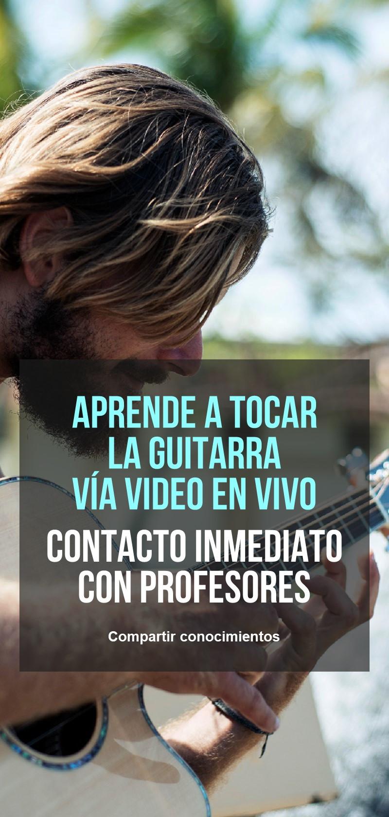 Profesores de guitarra