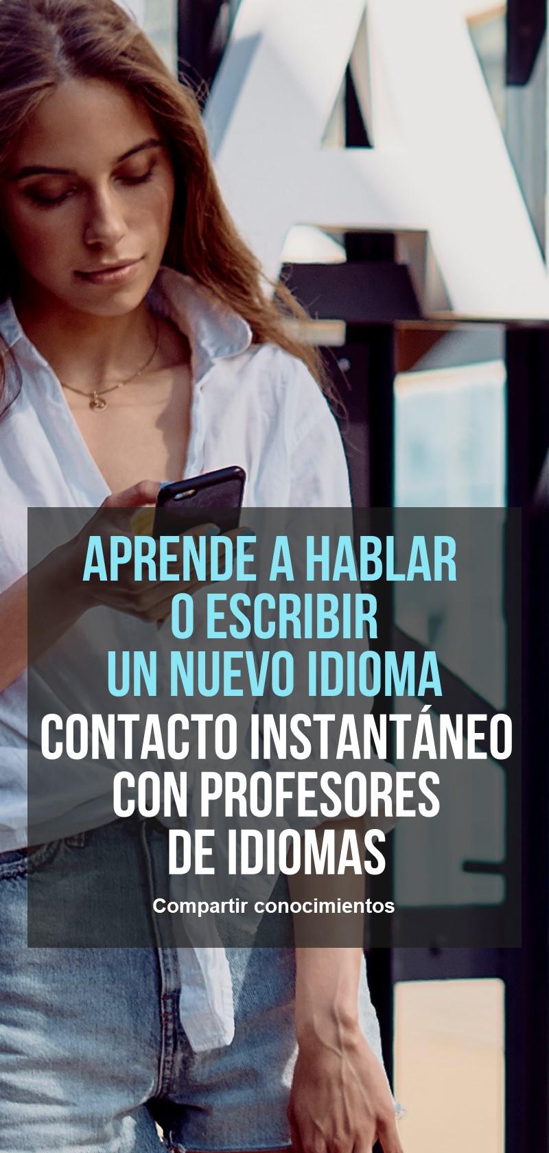 Aprende un idioma con profesores privados