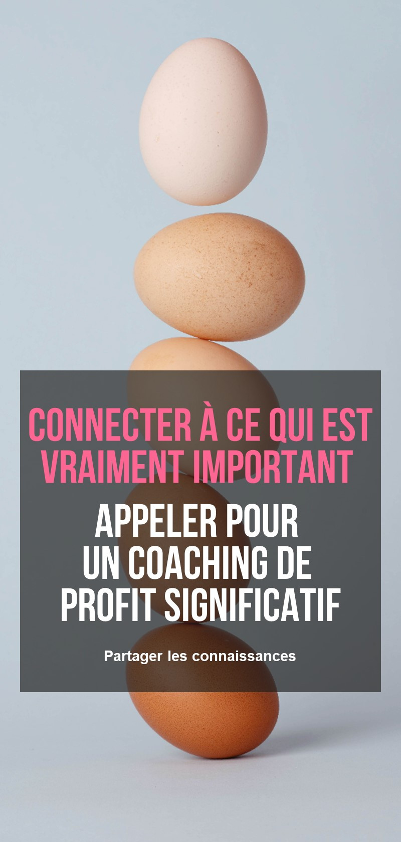 Coaching d'entreprise à but profit significatif