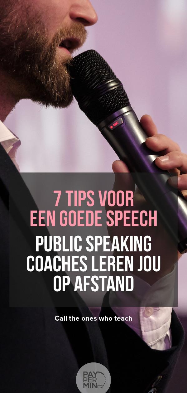 Tips en technieken om voor publiek te spreken