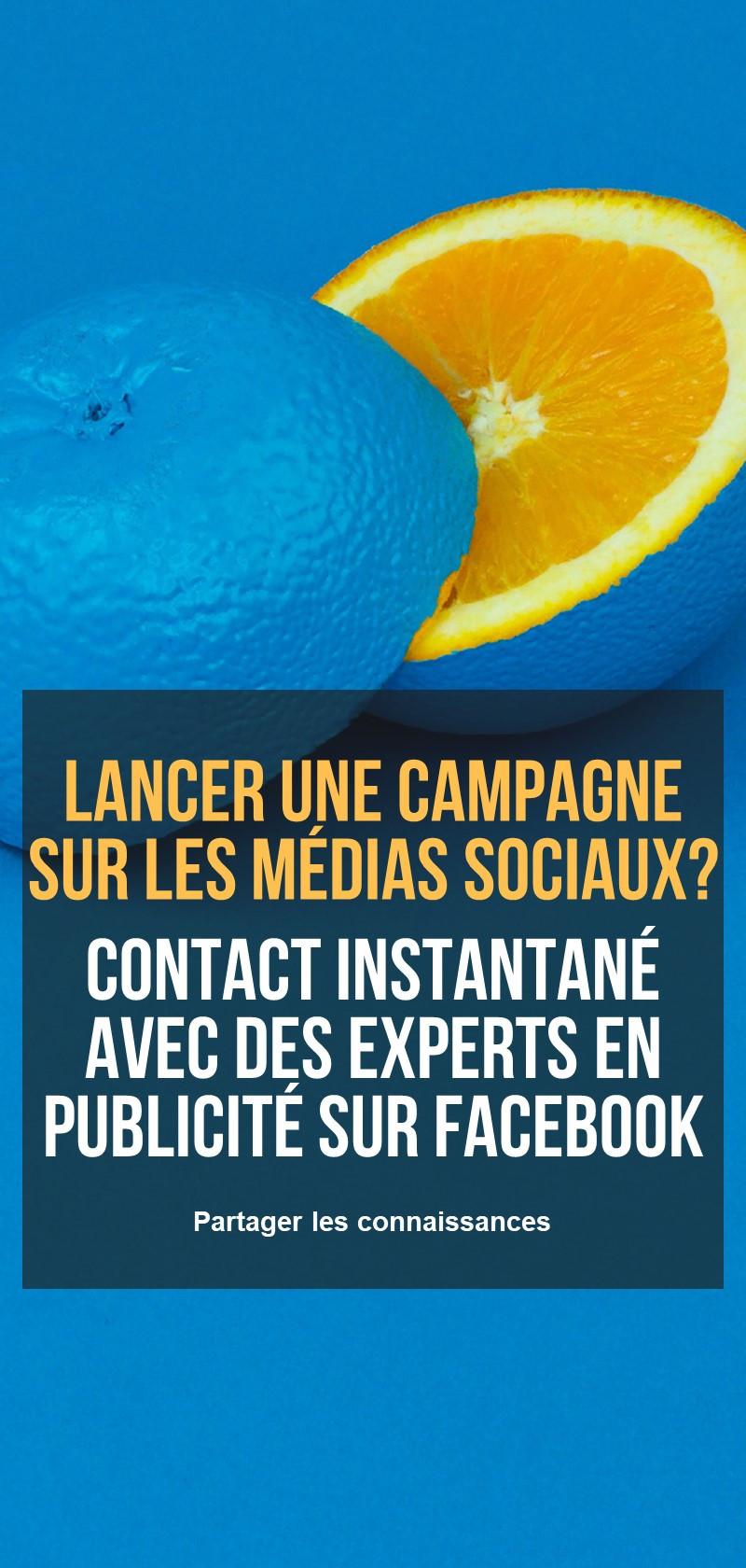 Soutien à la publicité sur Facebook