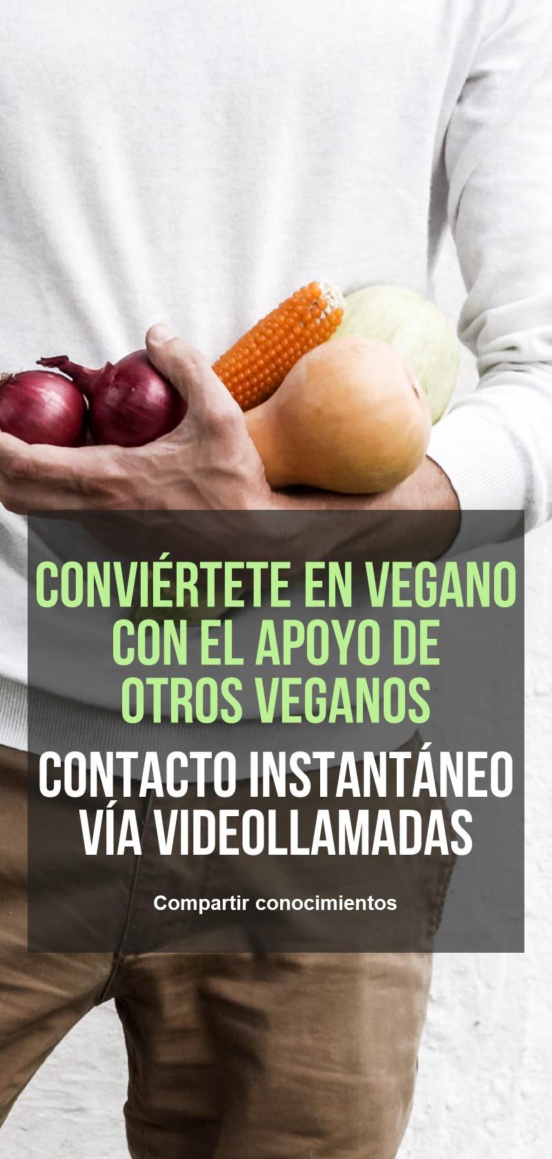 Recetas y consejos de veganos